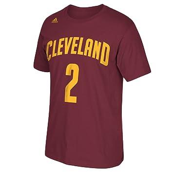 4e607133cc375 Adidas NBA Cleveland Cavaliers Kyrie Irving   2 Hombres de la Serie 7  Nombre y número Camiseta de Manga Corta