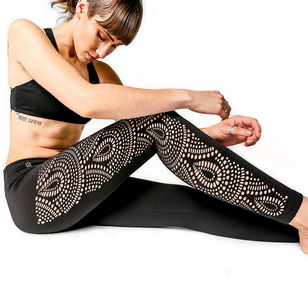 Yoga Design Lab | Laser Cut Leggings | Yoga Pants Redefined | Designed in Bali