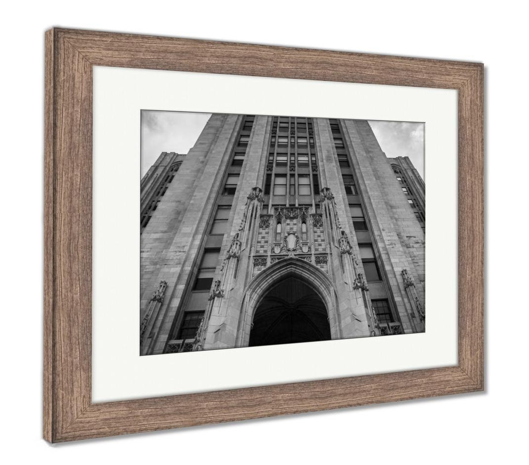 Amazon.com: Ashley Framed Prints The Cathedral Of Learning At ...