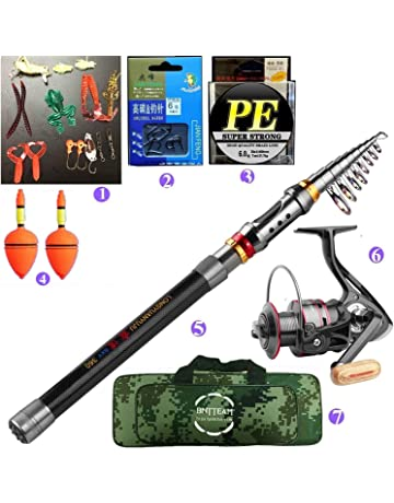 ecc369cac32 Amazon.co.uk: Rods - Fishing: Sports & Outdoors: Spinning Rods, Surf ...