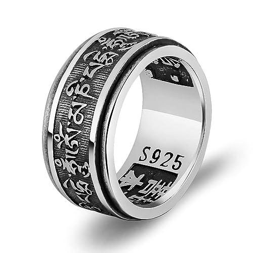 Nuevo incrustación de plata de acero inoxidable para hombres Carburo 7 mm Anillo de boda para hombre UK