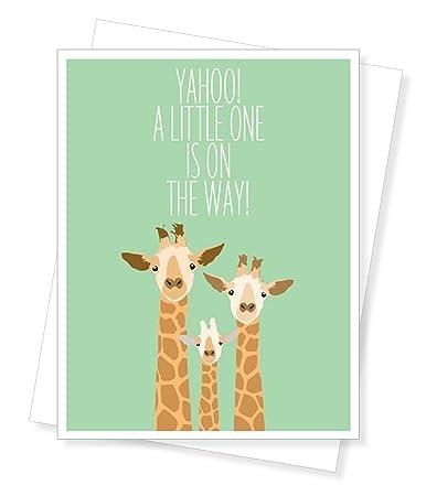 Baby Giraffe, New Baby/Baby Shower Greeting Card