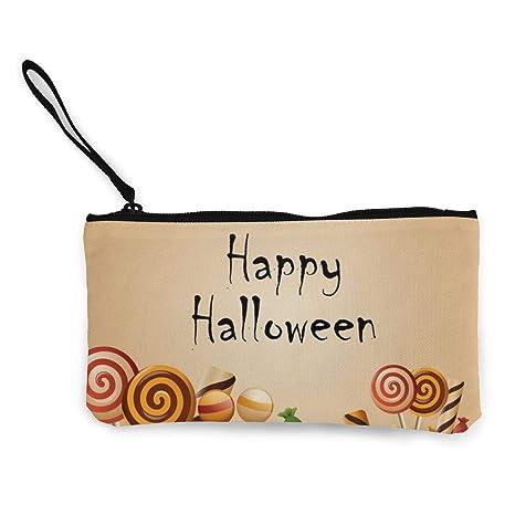Wrution Happy Halloween Card Pumpkins Candy - Monedero de ...