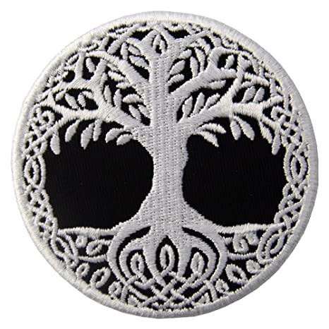 site réputé 0154f 9b5c0 Yggdrasil The Tree of Life in Norse Patch Embroidered Badge Iron On Sew On  Emblem