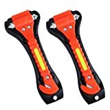 Amazon Price History for:VicTsing 2 Pack Car Safety Hammer, Emergency Escape Tool with Car Window Breaker and Seat Belt Cutter, Life Saving Survival Kit