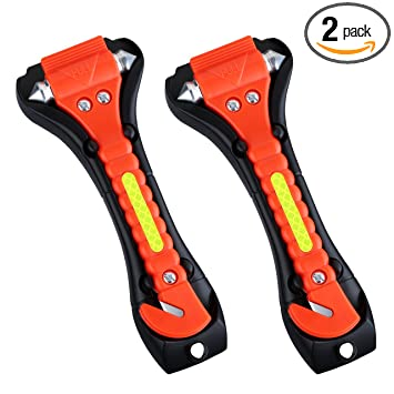 Amazon Com Victsing 2 Pack Car Safety Hammer Emergency Escape Tool