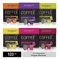 Deals on Bestpresso Coffee for Nespresso Original Machine 120 pods