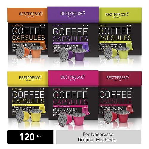 Kawa Bestpresso do Nespresso Oryginalny ekspres do kawy