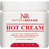 Natures Release Cellulite Hot Cream Treatment for Slimming, Supple and Toned
