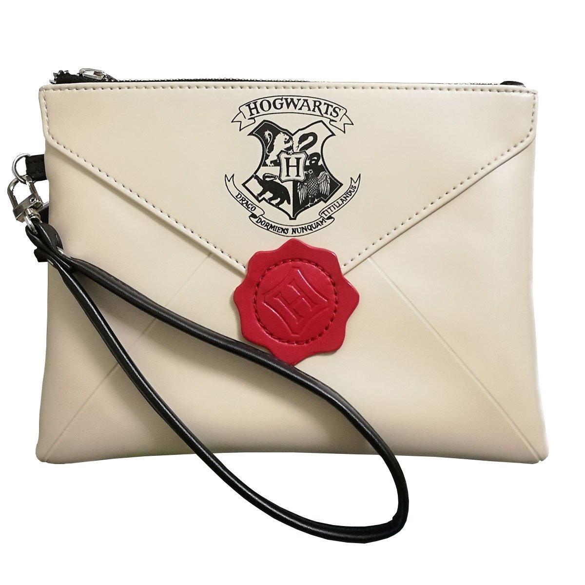 Woman Handbags Harry Potter Letter From Hogwarts Wallet Cosmetic Bag by Tvoj Poklon