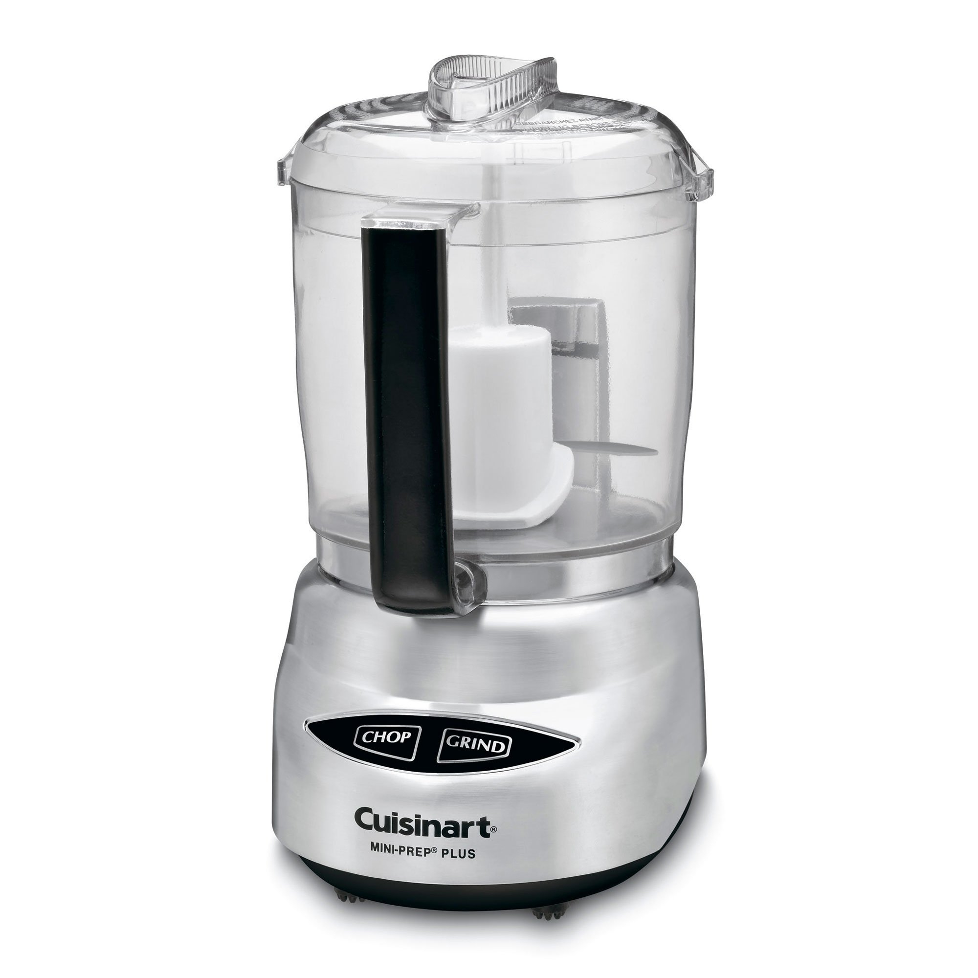 Cuisinart DLC-4CHB Mini-Prep Plus 4-Cup Food Processor, Brushed Stainless Steel (Certified Refurbished) by Cuisinart