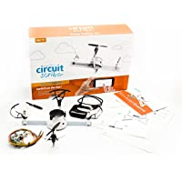 Circuit Scribe Drone Builder Kit for Kids | Build Your Own Drone with Camera | With Conductive Ink Pen, Motors…