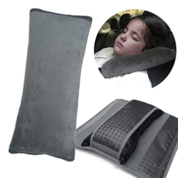 Comfortable Auto Car Safety Belt Shoulder Cushion Pads Covers Pillow Protection