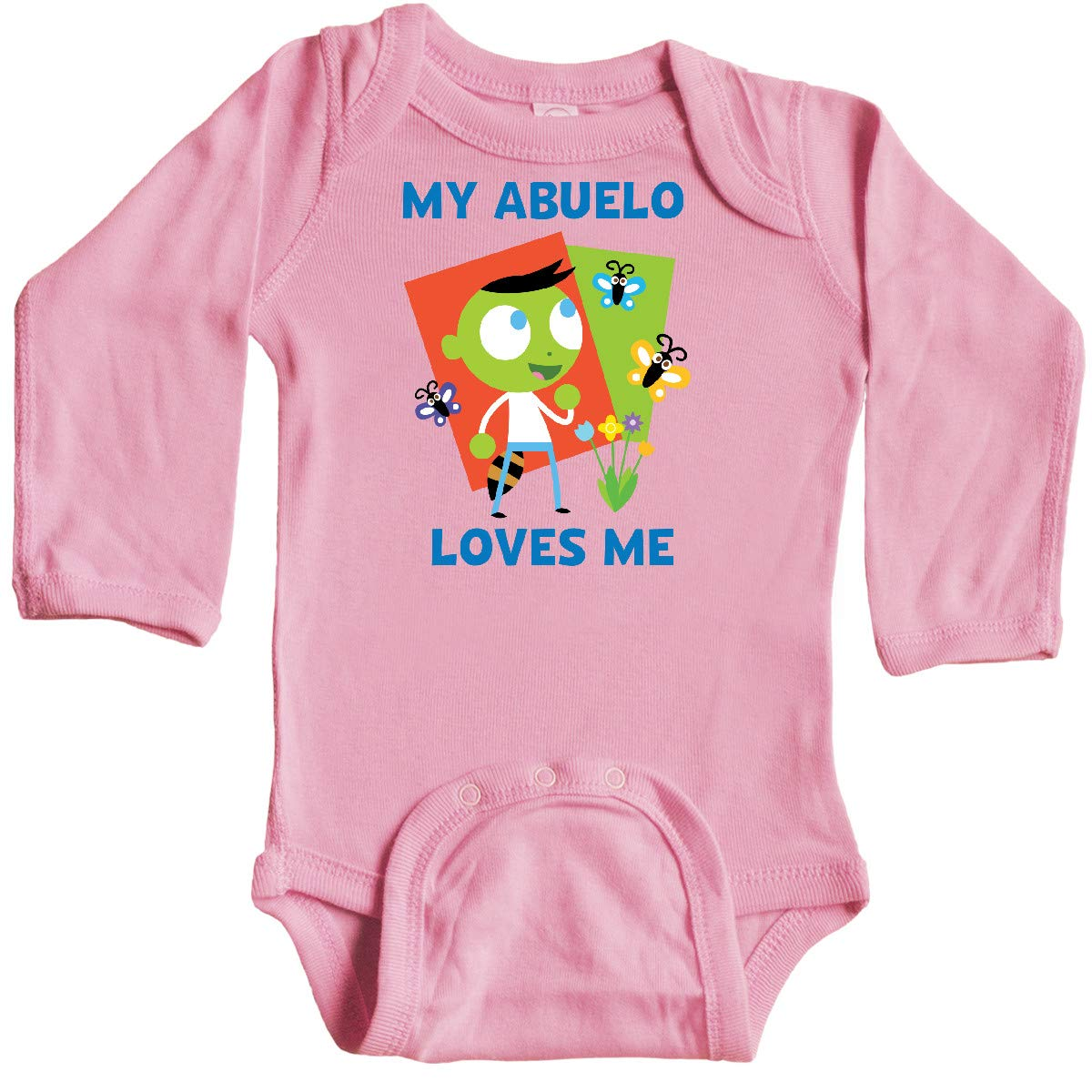Amazon.com: inktastic My Abuelo Loves Me with Del Long ...