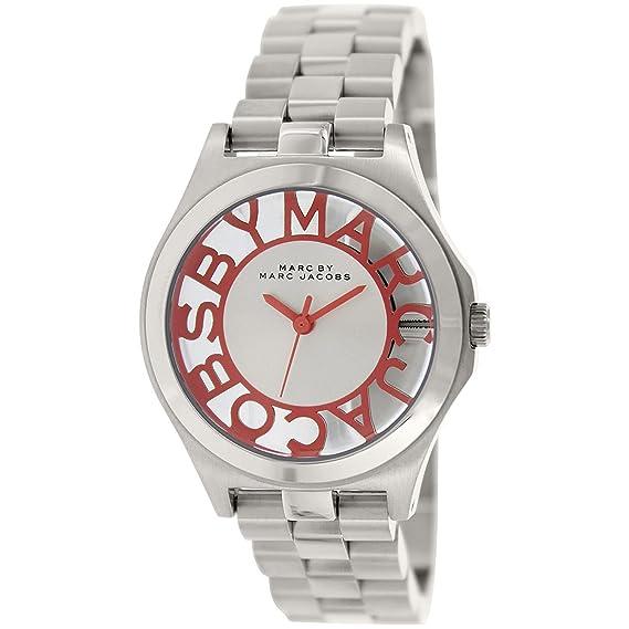 Reloj mujer MARC BY MARC JACOBS SKELETON HENRY MBM3294: Amazon.es: Relojes