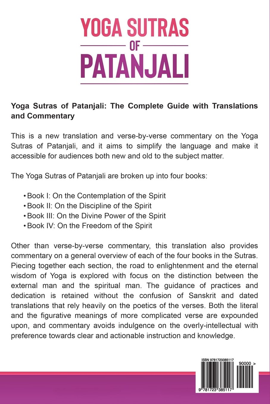 Yoga Sutras of Patanjali: The Complete Guide with ...