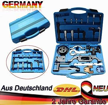 Steuerkette Wechsel Werkzeug Set Diesel Motor Opel Saab 2.0 2.2 DTi Astra Vectra