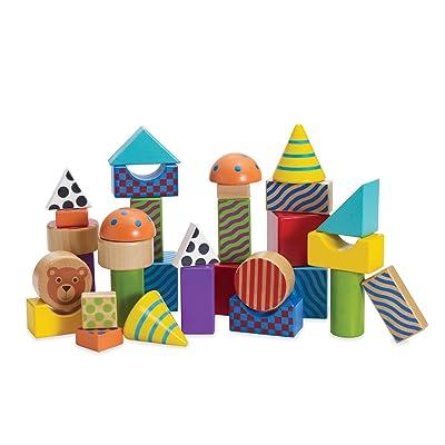 Manhattan Toy 211550 - Jouet de Premier Age - Create and Play Pattern Blocks