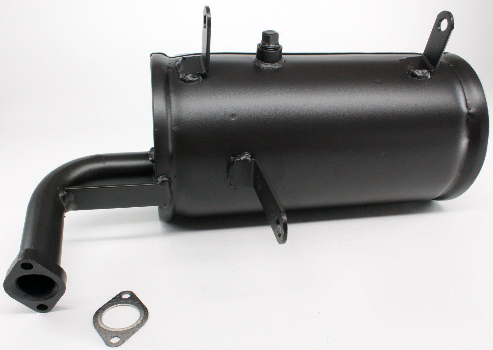 Kawasaki Mule 550 520 Muffler Exhaust and Gasket 18090-1556 11060-2079 New OEM