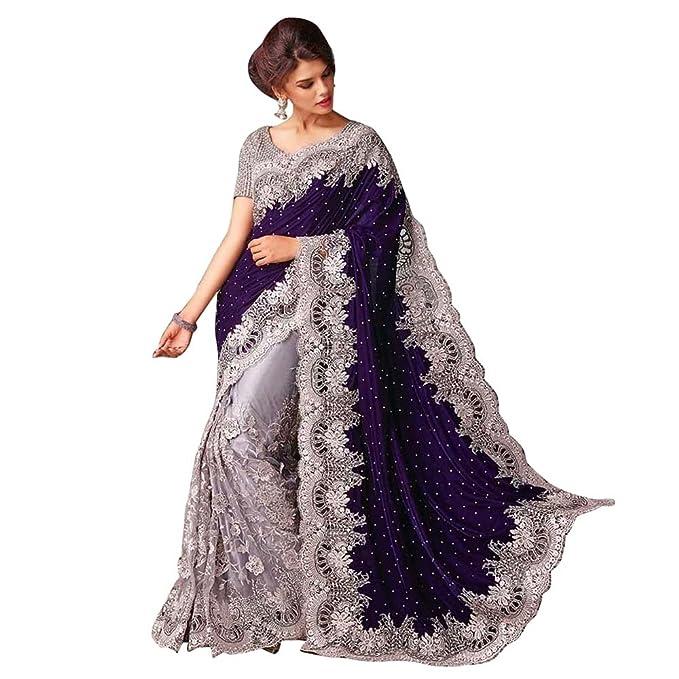 7ff495d8f0 Pakistani Wedding Designer Saree Indian Ethnic Party Wear Sari Bollywood  Saree: Amazon.ca: Clothing & Accessories