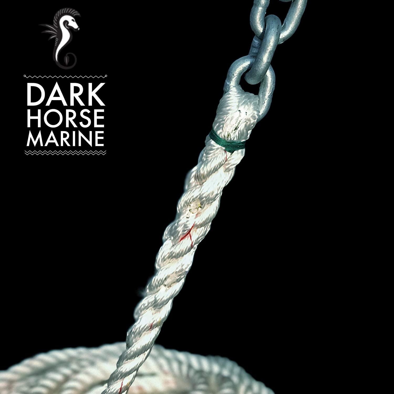 1//2 3 Strand Nylon Spliced to 25 of G4 1//4 Chain 200 Dark Horse Marine Extended Chain Lead Windlass Anchor RODE