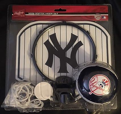 New York Yankees Mini Softee Hoop Set