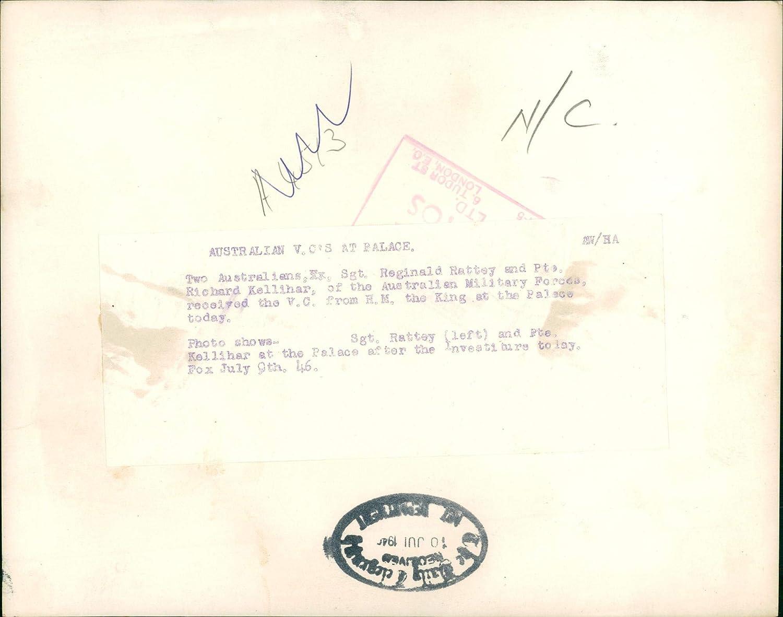 Amazon.com: Vintage photo of Reg Rattey with Richard ...
