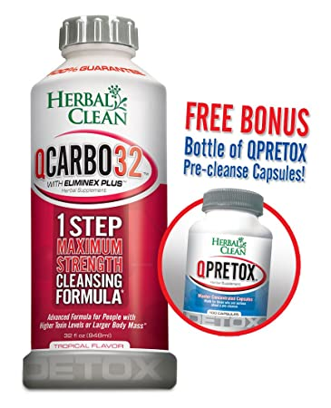 Amazon Bundle 2 Items Fast Detox 1 Qcarbo 32 Oz 1 Free