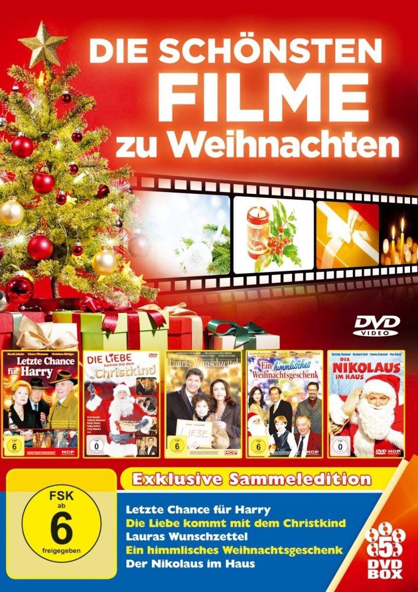 Die Schönsten Filme zu Weihnachten - 5 DVDs: Letzte Chance für Harry ...