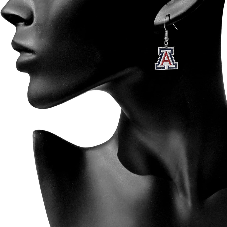 Siskiyou NCAA Chrome Dangle Earrings