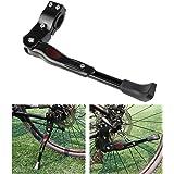 Foxnovo MTB Road Bike Kickstands Aluminum Alloy Kick Stand (Black)