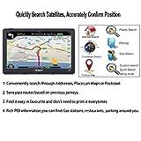Xgody Portable Truckers GPS with Sun Shade
