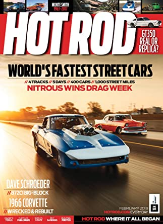 drag racing magazines list