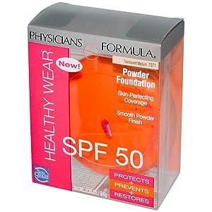 Physicians Formula Healthy Wear Powder Foundation Translucent Medium #7071