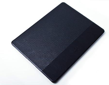 Ich Du Tablet Case Madrid Zubehör Für Original Apple Ipad Pro 12 9 Flache Klapphülle Im Carbon Look Schwarz Mit Aufstellfunktion Und