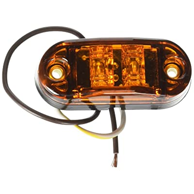 """Grote 47013 Yellow 2 1/2"""" Oval LED Clearance Marker Light: Automotive"""
