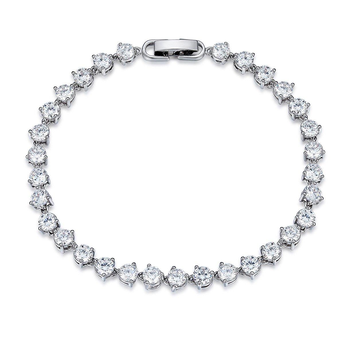 UMODE Jewelry Fashion 0.3ct Cubic Zirconia CZ Diamond Tennis Bracelet yiwu xilin trading company ltd. UB0087CA
