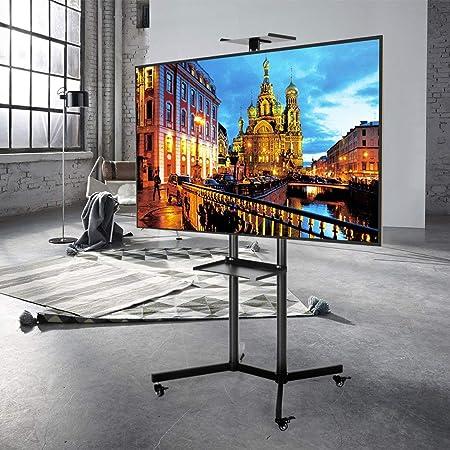 SEESEE.U Soporte Universal de Suelo para Carro de TV móvil para Pantallas de TV LCD de Plasma LED con Ruedas: Amazon.es: Hogar