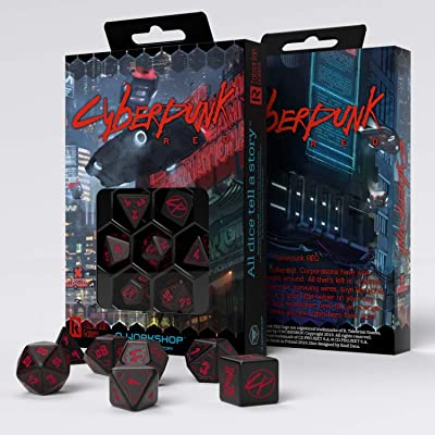 The Cyberpunk RPG Dice Set: Toys & Games