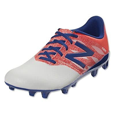 af6028290 Image Unavailable. Image not available for. Color  New Balance Big Kid Soccer  Cleats Size 4.5 White Shock Red Blue