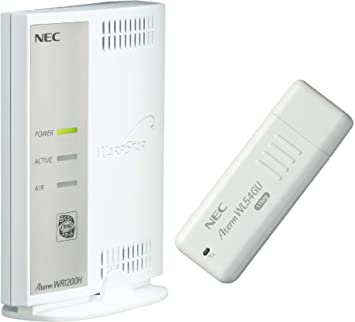 Drivers NEC Aterm WL300NC Router
