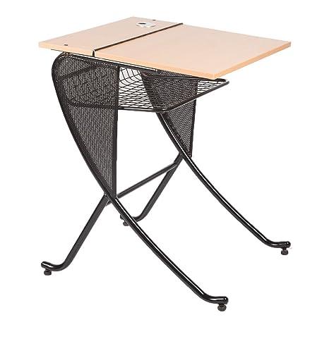 GEOMETRY Study Table, Standard (Black)