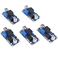 VABNEER 5 morceaux LM2596S DC-DC Alimentation Modules, écharpe tregler Module convertisseur buck, modules Power Converter réglable en 3-40 V en 1.5-35 V/3 A