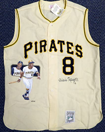 reputable site 6ca5d 86617 Pittsburgh Pirates Willie Stargell Autographed Mitchell ...