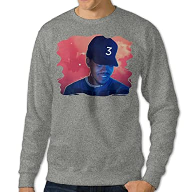 men u0027s chance the rapper coloring book round collar pullover