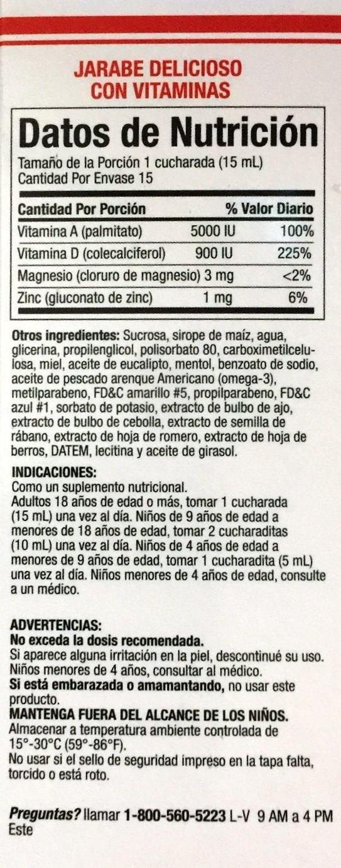 Amazon.com: Compuesto Vegetal Quisqueyano Jarabe 8 oz. Vegetal Compound: Health & Personal Care