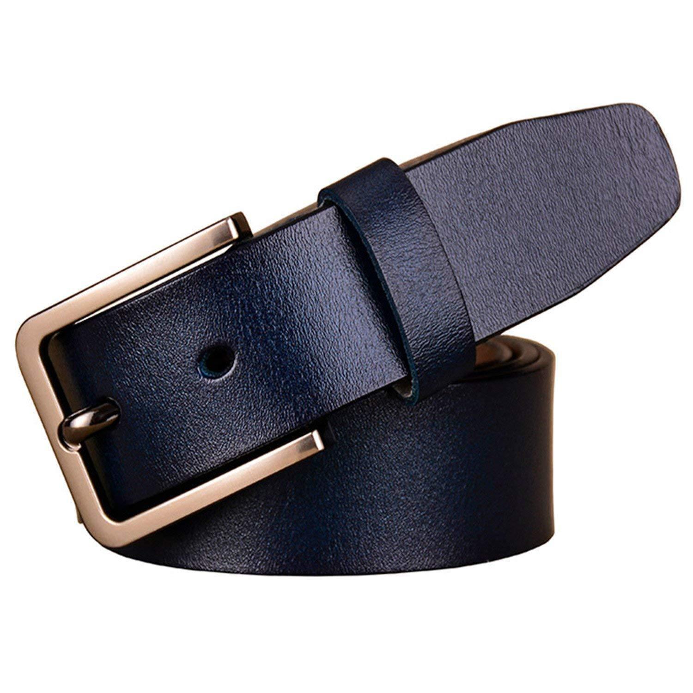 Mainstream Fashion Cow womanPin buckle strap,100cm,DarkBlue