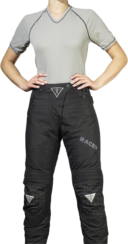 Racer Adventure PlusLadies Textilhose Schwarz Gr/ö/ße M