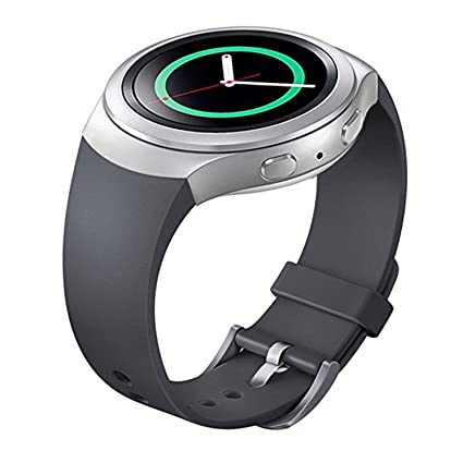 Lakvom Silicone Sport Style Watch Band for Samsung Gear S2 - Gray