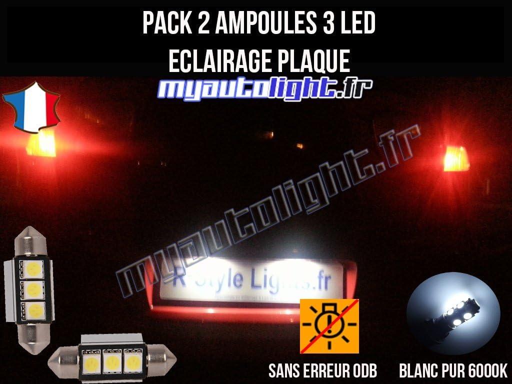 Pack de bombillas LED para placa de iluminación, compatible con Seat: Amazon.es: Coche y moto